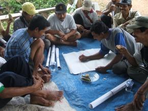 fasilitasi resolusi konflik pada mitra kerja kelompok moloh lestari way lima 2009